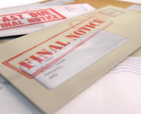 Envelop final notice