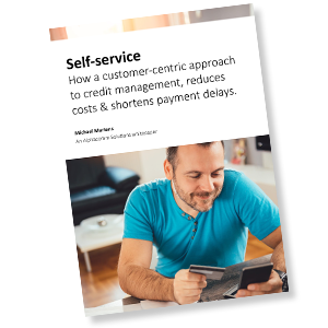 whitepaper self service in credit management thumbnail