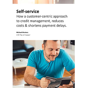 Selfservice in credit management